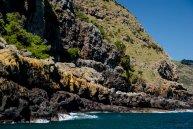 skały nad morzem